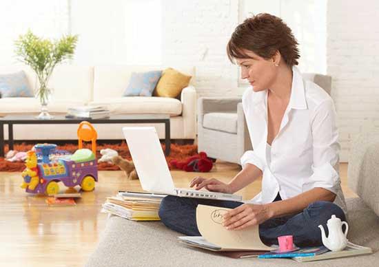 Бизнес для женщин - как не выходя из дома можно зарабатывать