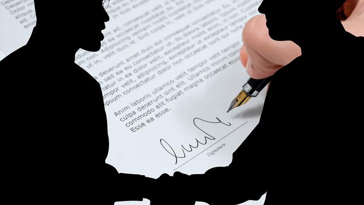 Подписание договора о реструктуризации долга