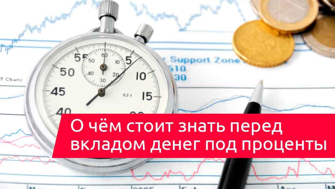 Как сделать вклад в банк под проценты