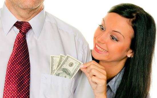 Как правильно просить у мужчины деньги, чтобы не получить отказа